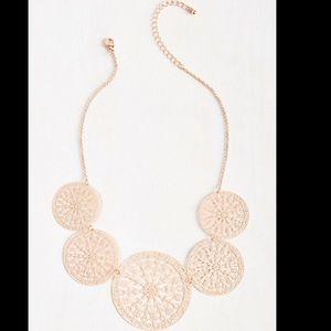 Modcloth Social Circles Necklace
